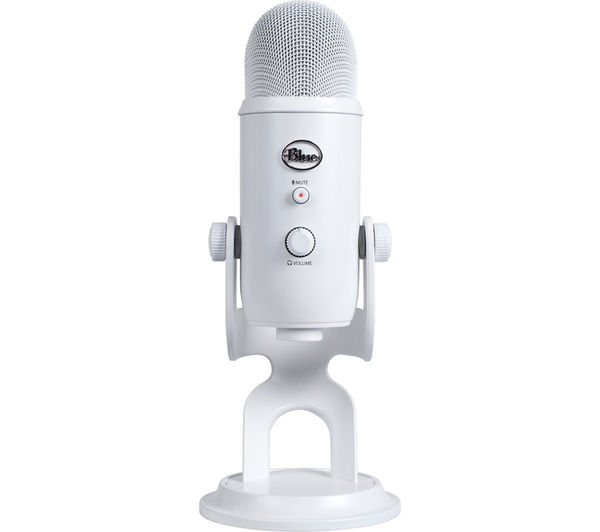 Image of BLUE Yeti Professional USB Microphone - White