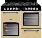 LEISURE Cookmaster CK100G232C 100 cm Gas Range Cooker - Cream & Chrome