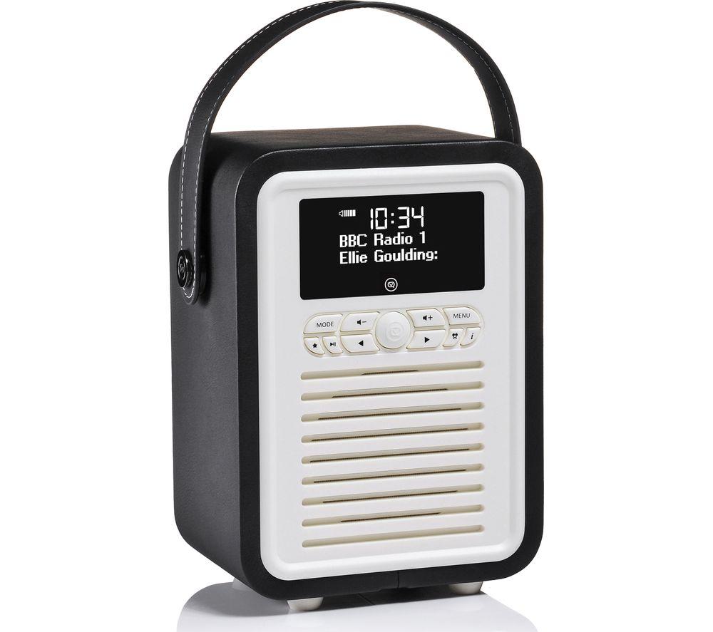Viewquest Retro Mini VQ-MINI-BK Portable Bluetooth DAB Radio specs
