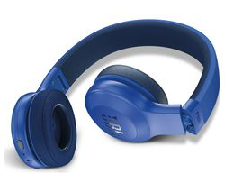 JBL E45BT Wireless Bluetooth Headphones - Blue
