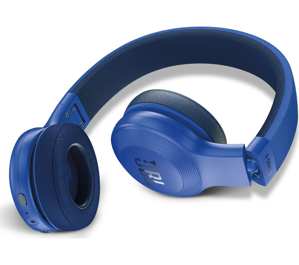 39966042865 Buy JBL E45BT Wireless Bluetooth Headphones - Blue | Free Delivery ...