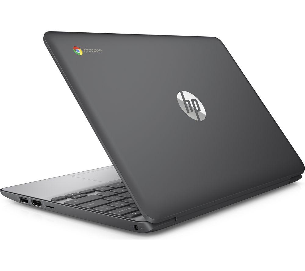 """HP 11-v051na 11.6"""" Chromebook - Grey"""