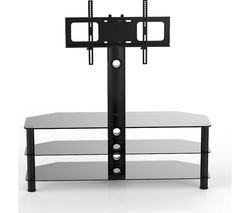 VIVANCO Brisa 1000 TV Stand with Bracket - Black