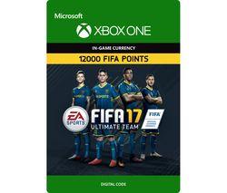 MICROSOFT Xbox One FIFA 17 Ultimate Team - 12000 FIFA Points