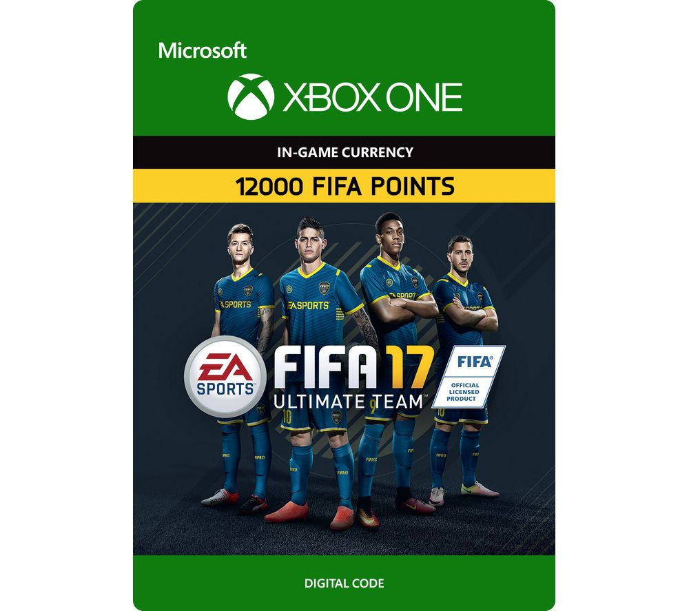 MICROSOFT Xbox One FIFA 17 Ultimate Team - 12000 FIFA Points