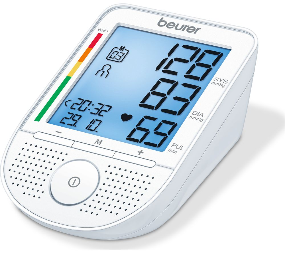 Compare retail prices of Beurer BM49 Speaking Handheld Upper Arm Blood Pressure Monitor to get the best deal online