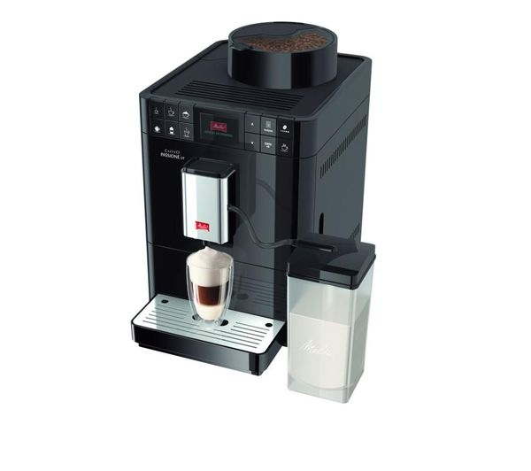 buy melitta caffeo passione ot f53 1 102 bean to cup coffee machine black free delivery currys. Black Bedroom Furniture Sets. Home Design Ideas