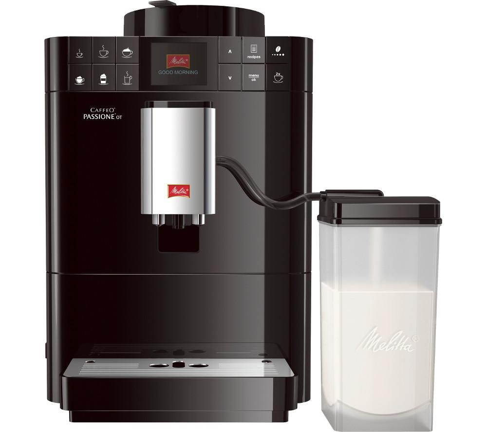 Compare retail prices of Melitta Caffeo Passione OT F53-1-102 Bean to Cup Coffee Machine to get the best deal online