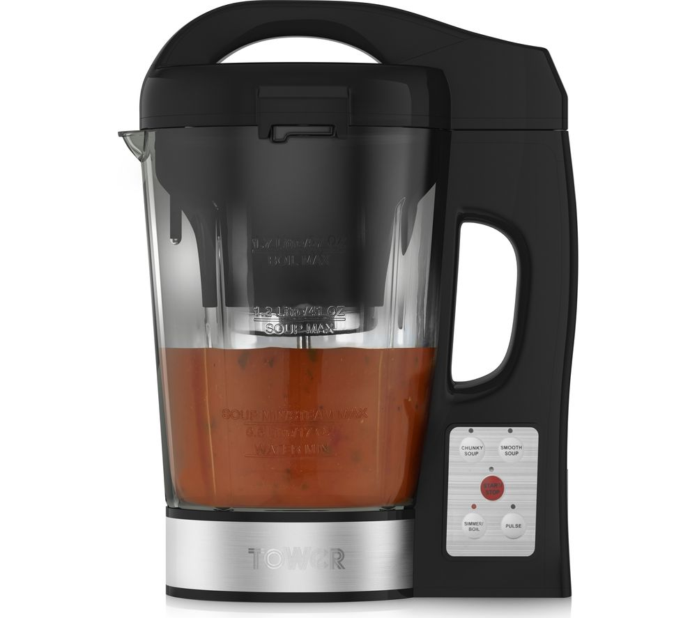Buy TOWER T12019 Soup Maker - Black