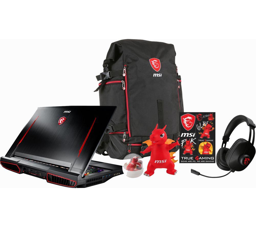 MSI Titan Pro GT73VR 7RF Gaming Laptop - Black