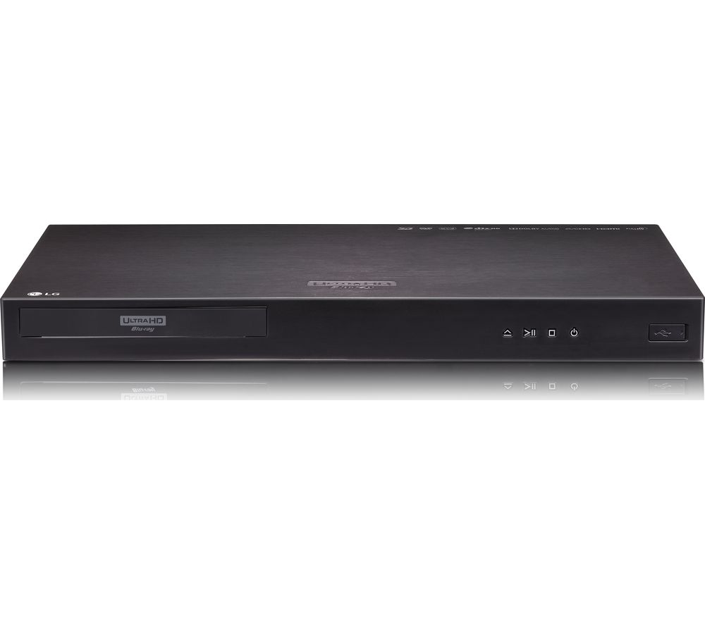 LG UP970 Smart 4K Ultra HD 3D Blu-ray Player with 4K Ultra HD Upscaling