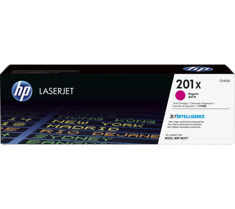 HP 201X Magenta Toner Cartridge