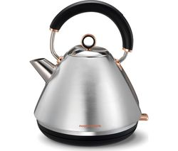 MORPHY RICHARDS Accents 102105 Traditional Kettle - Brushed Stainless Steel & Rose Gold