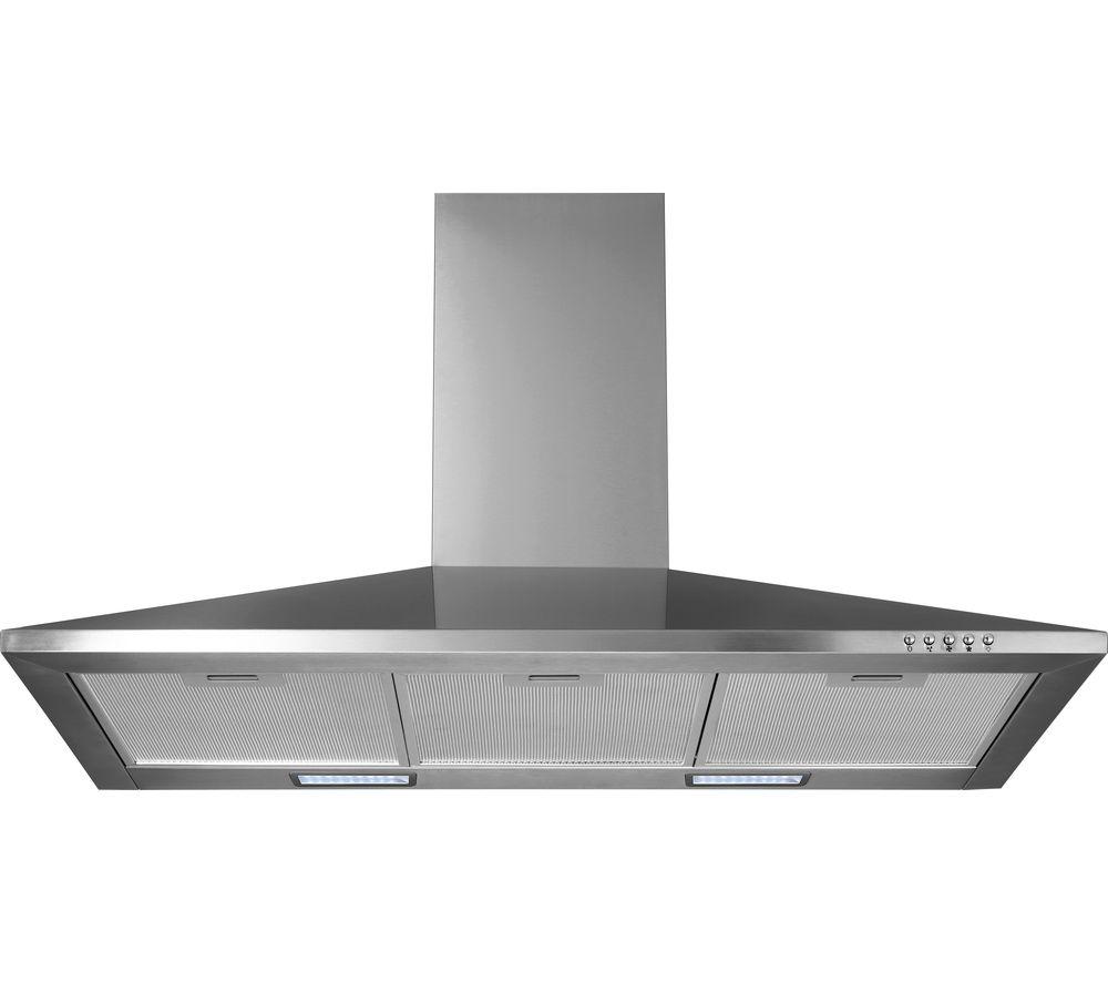 Steel Cowl Hoods ~ Buy logik l chdx chimney cooker hood stainless steel