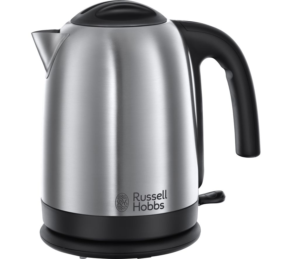 buy russell hobbs cambridge brushed steel 20070 jug kettle polished stainless steel free. Black Bedroom Furniture Sets. Home Design Ideas