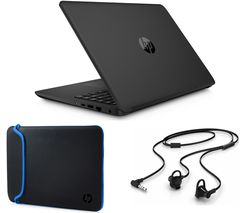 "HP 14-bp059sa 14"" Laptop - Jet Black"