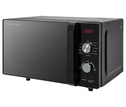 RUSSELL HOBBS RHFM2001B Compact Solo Microwave - Black Best Price, Cheapest Prices