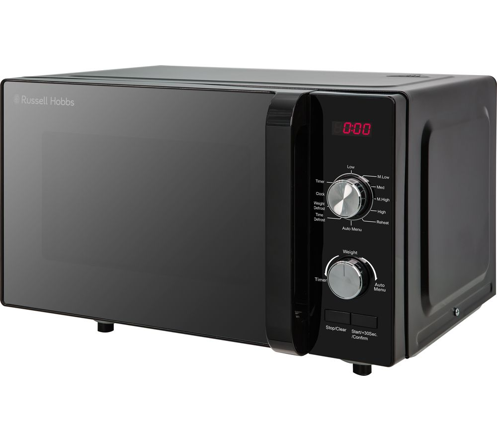 RUSSELL HOBBS RHFM2001B Compact Solo Microwave - Black