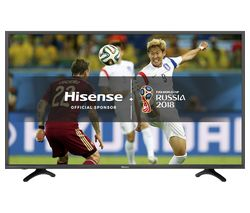 "HISENSE H49N5500UK 49"" Smart 4K Ultra HD HDR LED TV"