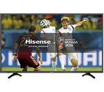 """HISENSE H49N5500UK 49"""" Smart 4K Ultra HD HDR LED TV"""