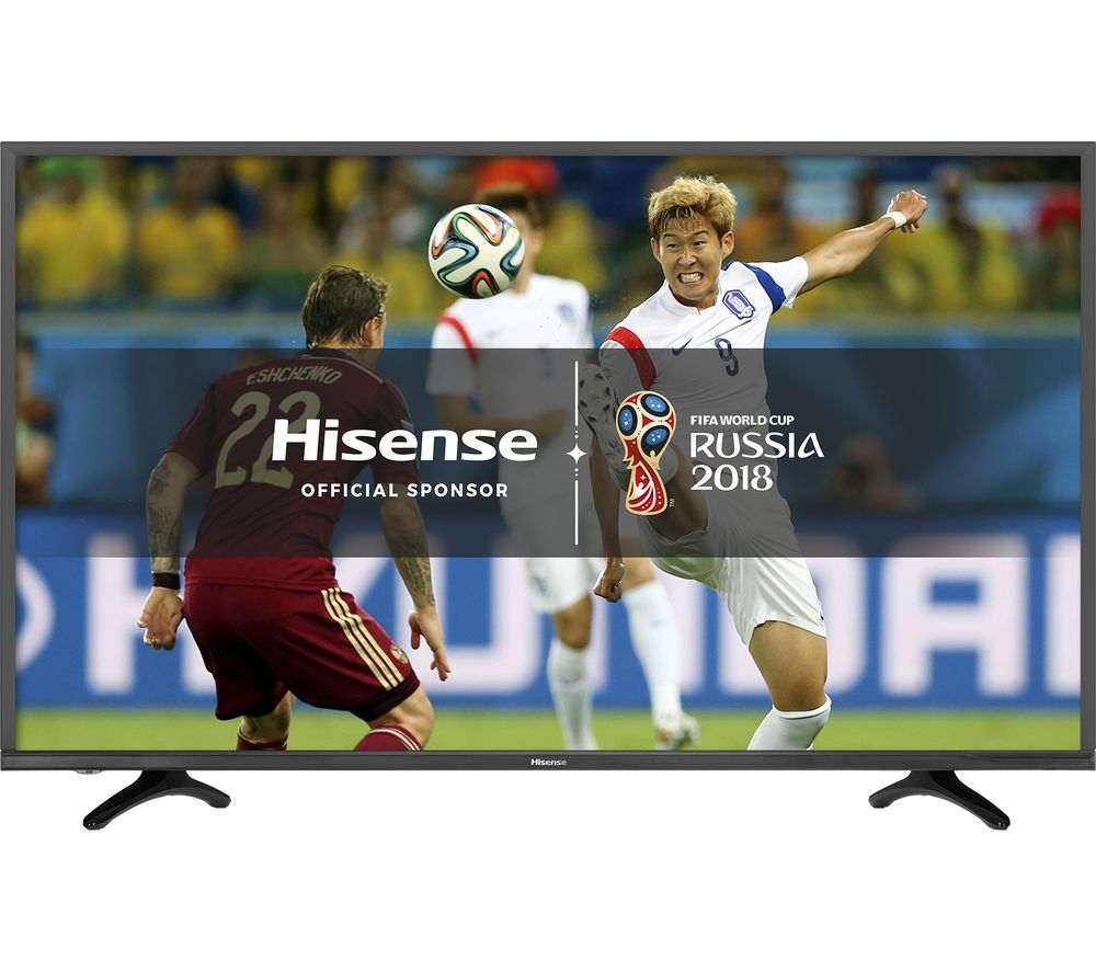 Compare retail prices of 49 Inch HISENSE H49N5500UK Smart 4K Ultra HD HDR LED TV to get the best deal online