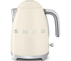 SMEG KLF03CRUK Jug Kettle - Cream