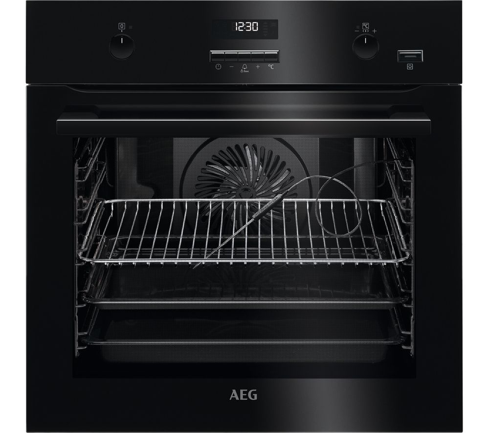 Compare prices for AEG BPE552220B Electric Oven - Black