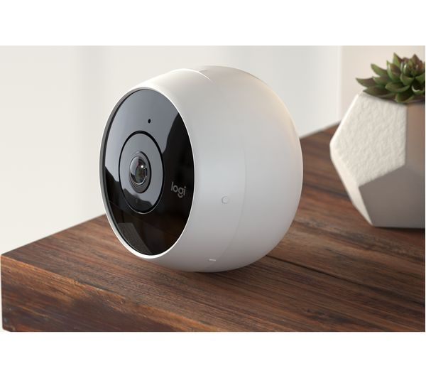 794941985d6 Buy LOGITECH Circle 2 Smart Home Security Camera + Home - White ...