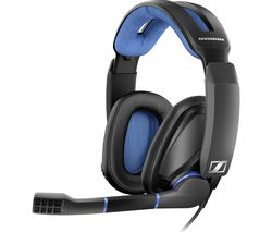 SENNHEISER GSP 300 Gaming Headset - Black & Blue