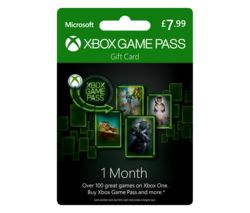 Xbox One Game Pass - 1 month
