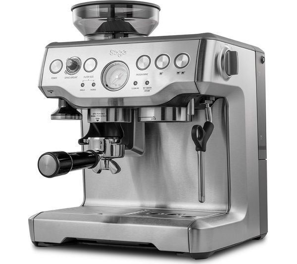 SAGE Barista Express BES875UK Bean to Cup Coffee Machine ...