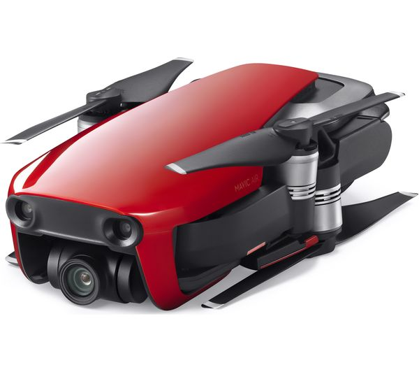 DJI Mavic Air Drone with Controller & Accessory Pack - Flame Red