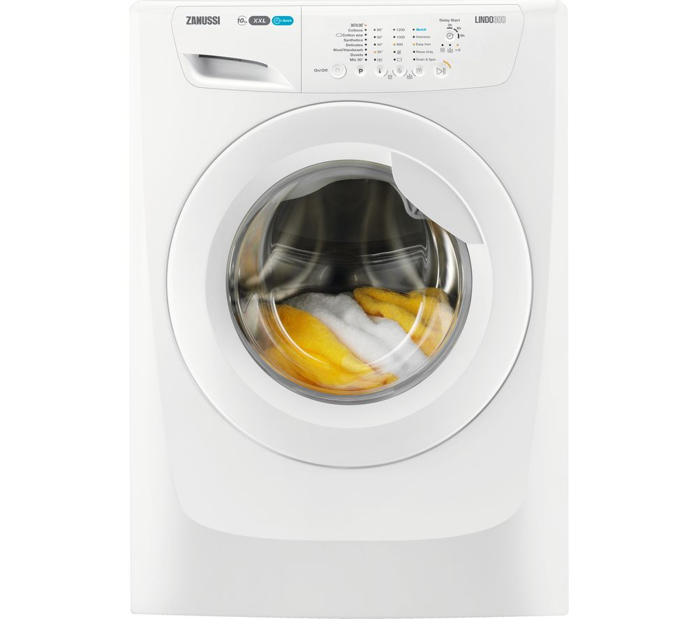 ZANUSSI ZWF01280W 10 kg 1200 rpm Washing Machine – White, White