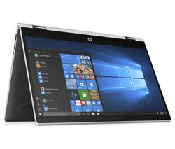 "HP Pavilion x360 14"" Intel® Core™ i3 2 in 1 - 128 GB SSD, Silver"