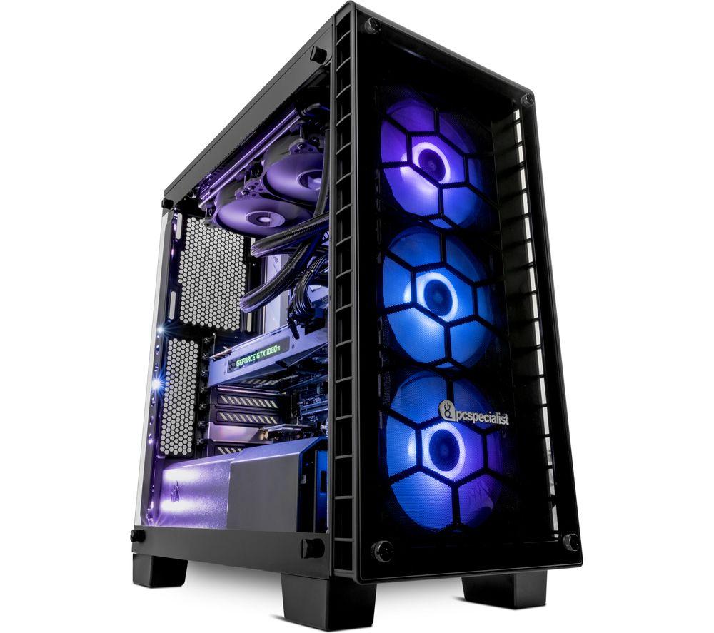 pc specialist vortex colossus ultima intel core i9 gtx 1080 ti gaming pc 2 tb hdd 500 gb. Black Bedroom Furniture Sets. Home Design Ideas
