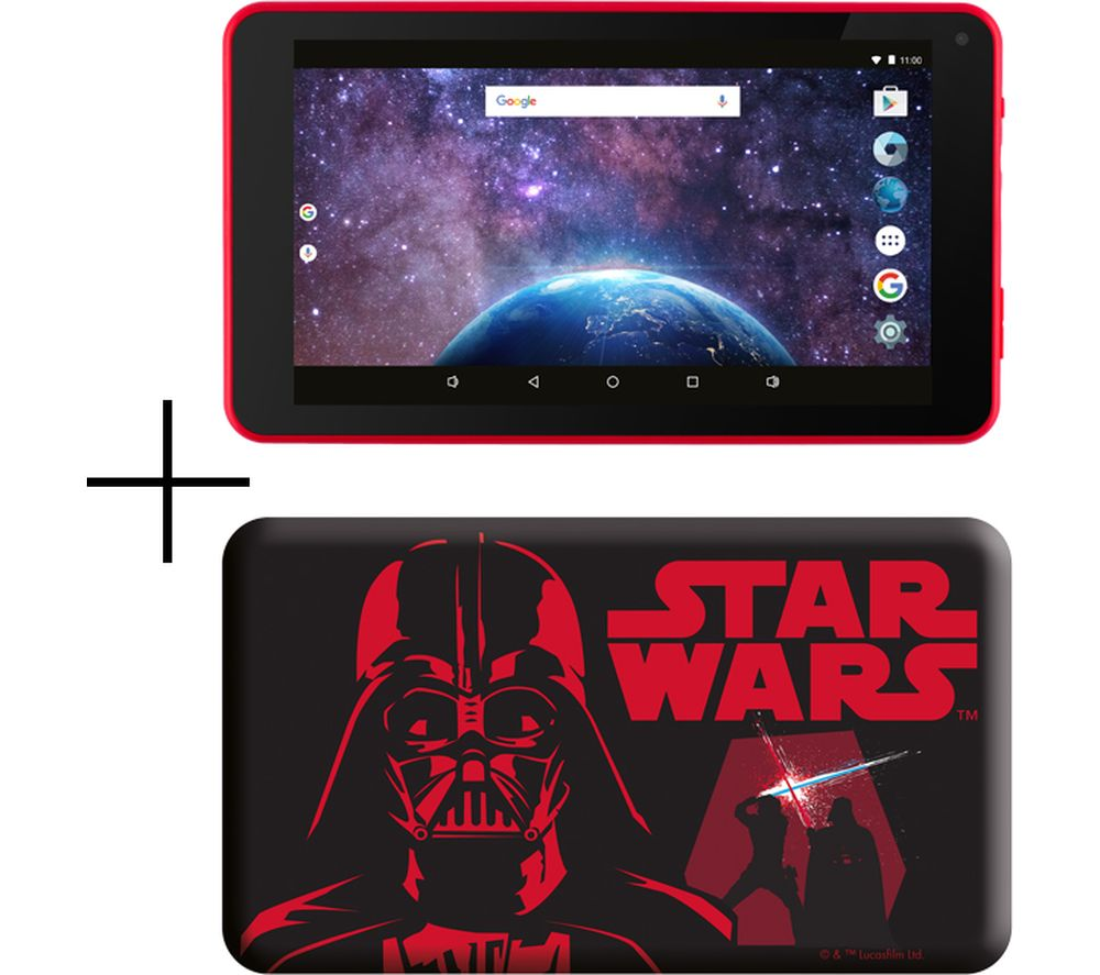 "Image of ESTAR 7"" Tablet & Case - 8 GB, Darth Vader"