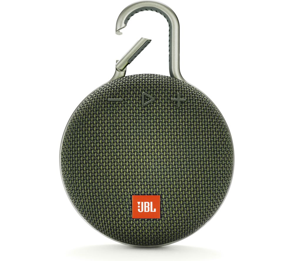 JBL Clip 3 Portable Bluetooth Speaker - Green