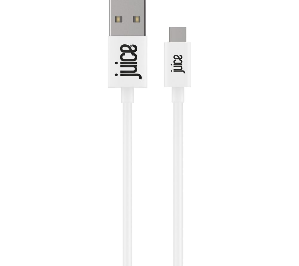 JUICE USB Type-C Cable - 1 m, White