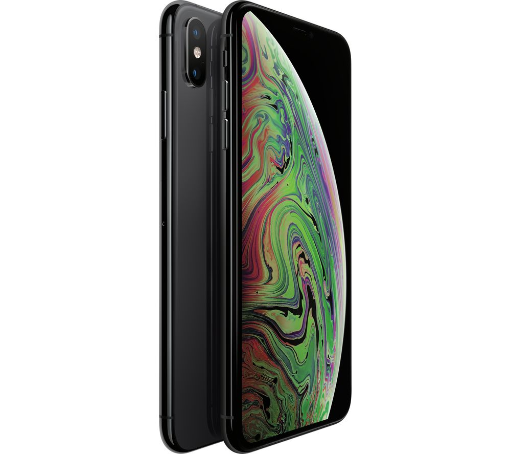 iphone xs max buy apple iphone xs max 512 gb space grey free delivery currys