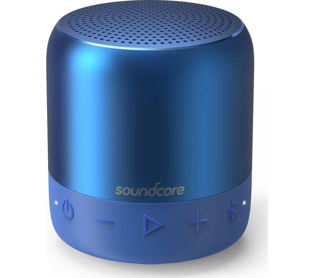 Image of SOUNDCORE Mini 2 Portable Bluetooth Speaker - Blue, Blue