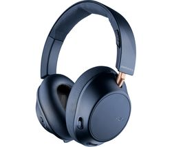 Back Beat Go 810 Wireless Bluetooth Noise-Cancelling Headphones - Navy Blue