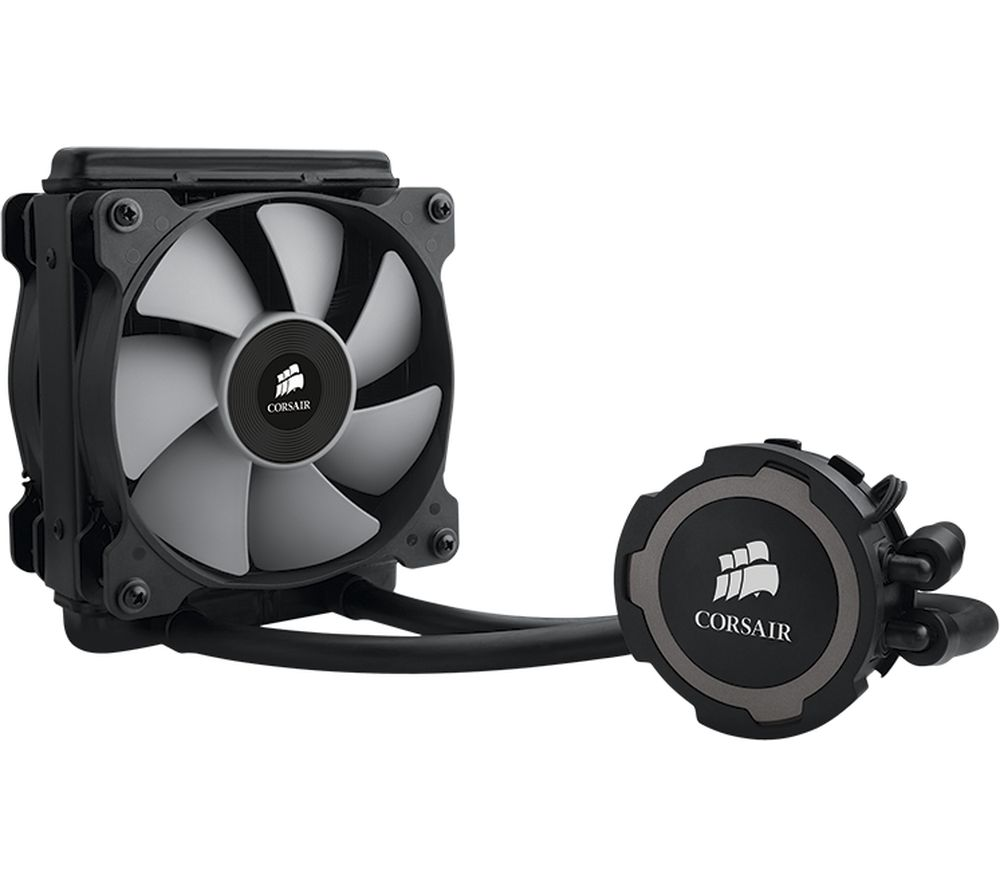 CORSAIR Hydro Series H75 120 mm CPU Cooler - White LED