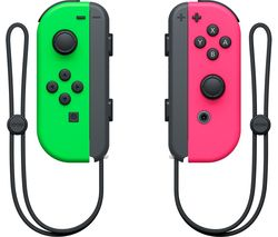 Switch Joy-Con Wireless Controllers - Neon Green & Neon Pink