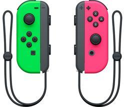 NINTENDO Switch Joy-Con Wireless Controllers - Neon Green & Neon Pink