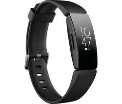 Inspire HR Fitness Tracker - Black, Universal