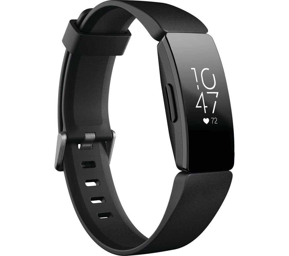 FITBIT Inspire HR Fitness Tracker - Black, Universal