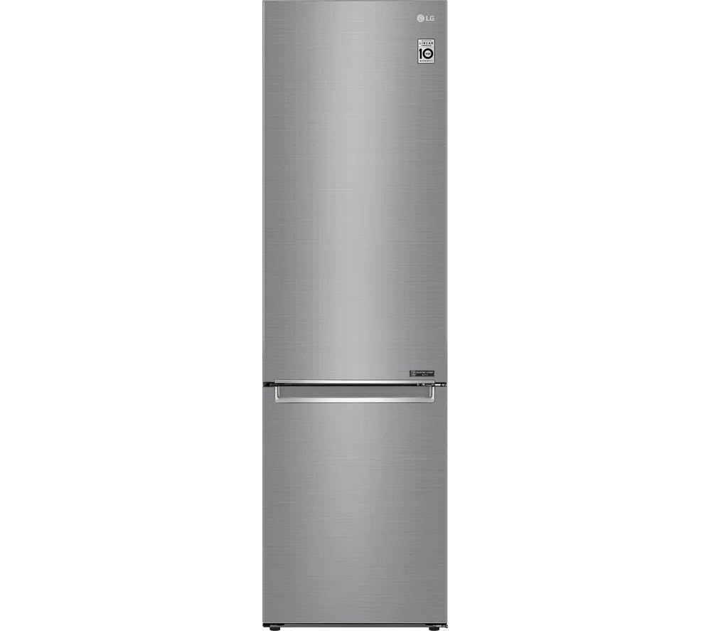 LG GBB72PZEFN 70/30 Fridge Freezer - Steel