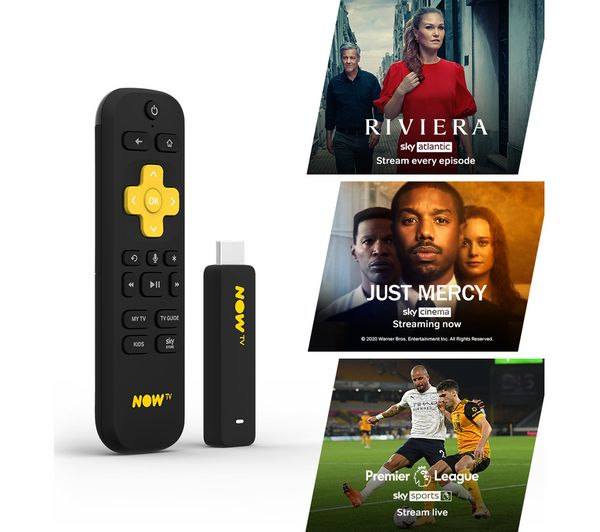 cf2dbad9556 An image of NOW TV Smart Stick with 1 Month Cinema, Entertainment & Sports  Pass