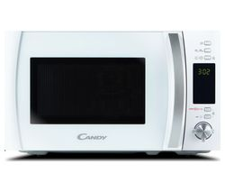 CANDY CMXW 20DW-UK Compact Solo Microwave - White