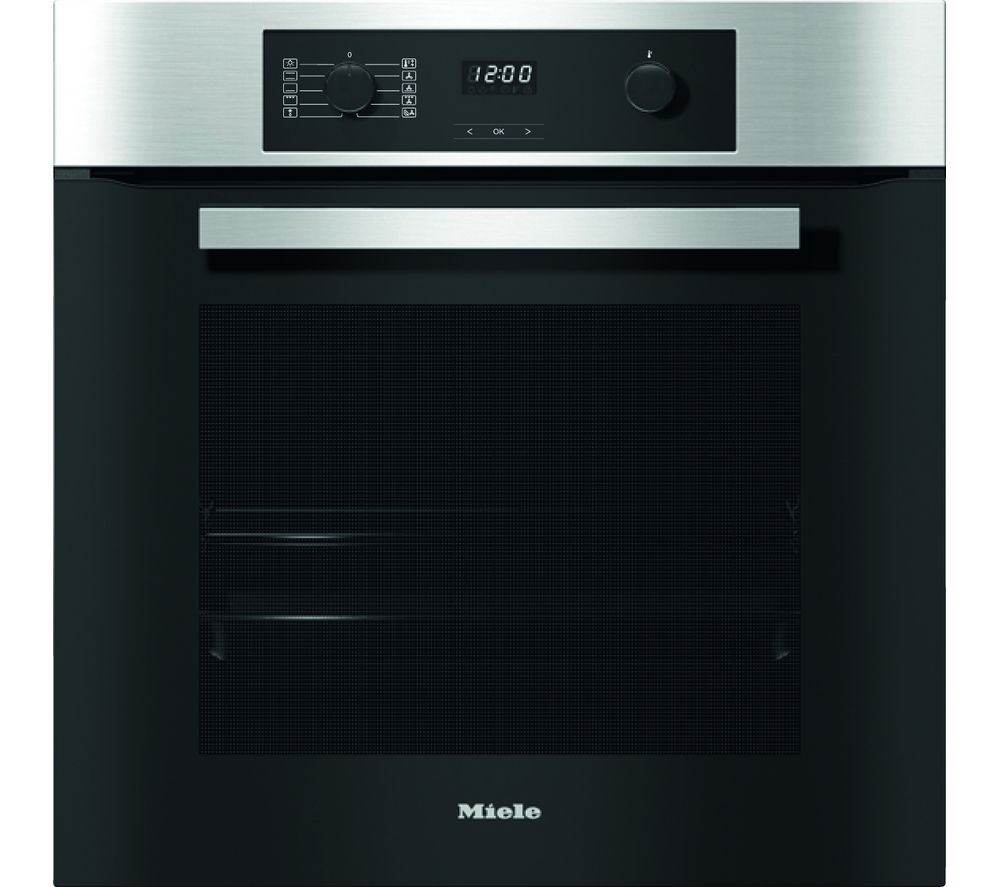 Image of H2265-1B Electric Oven - Steel, Red